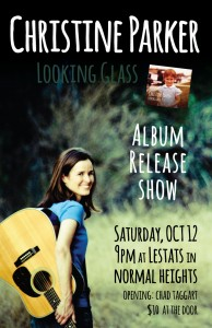 Christine Parker Poster for CD Release Show